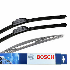 For Honda Jazz MK3 Hatch Bosch Aerotwin Retro Front & Specific Rear Wiper Blades