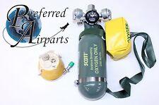 New Surplus Scott Portable Aviators Breathing Oxygen Tank PN 5500-A1Y-BF20B