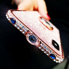 Fashion Glitter Diamond ring Metal Bumper Case Cover For iphone 11 Pro Max Xs Xr