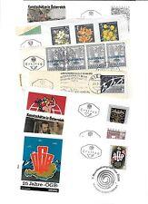 "Austria-14 good Fd covers-1950s/1960s etc, ""Folio-Print"" cachets"