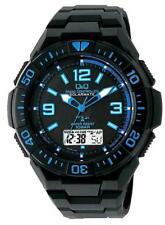 CITIZEN Q&Q MD06-335 SOLARMATE blue & Black Men's Watch New in Box