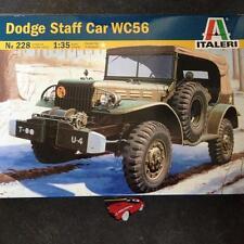 ITALERI 73228 1:35 DODGE STAFF CAR WC56 MILITARY MODEL KIT