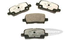 Disc Brake Pad Set-Semi-Metallic Pads Rear Tru Star PPM865