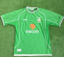 REPUBLIC OF IRELAND FOOTBALL HOME SHIRT WORLD CUP 2002 SIZE EXTRA LARGE ADULT