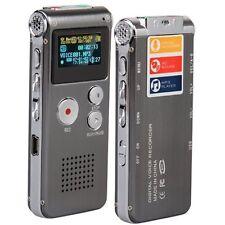 8GB Digit Diktiergerät Aufnahmegerät Voice Recorder WAV DE