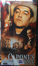 Capone's Boys (VHS) 2002 gangster drama with Marc Warren, Richard Roundtree