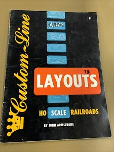 Vintage Custom-Line Layouts Ho Scale Railroads By John Armstrong Atlas Tool 1957