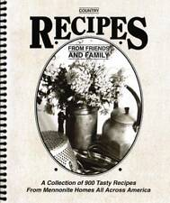 Country Recipes From Friends and Family: Country R