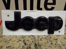 14-18 Jeep Grand Cherokee New Jeep Tailgate Emblem Black Nameplate Mopar Oem