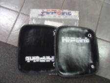 Vintage NOS Hi-Point Racing Handle Bar Guards Handlebar Hand Black AHRMA MX