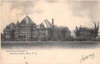 UTICA NEW YORK NY MASONIC HOME~W C ROWLEY PUBLISHED ROTOGRAPH UDB POSTCARD 1906