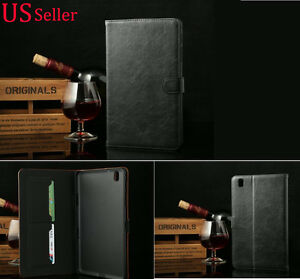 Leather Flip Wallet Stand Case Cover For Samsung Galaxy Tab Pro 8.4 T320
