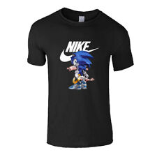 Nike T-Shirt Funny Snoopy Round Neck Casual Parody Party Wear Men Printed TShirt