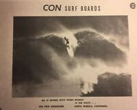 "CON Surfboards""vintage Wave""1960-90 Santa Monica/Venice Surf(jacobs,velzy,"