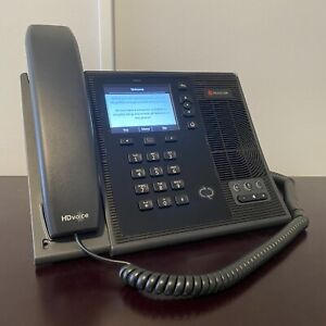 Polycom CX600 Network IP Phone / SIP / Microsoft Lync / Desk Phone / Extension