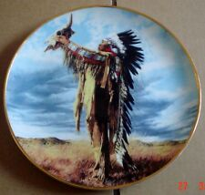 American Indian Heritage Museum Collectors Plate PRAYER TO THE GREAT SPIRIT