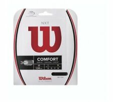 New Wilson Nxt 17 (1.24) Tennis String Set Black Pack