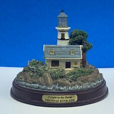 Thomas Kinkade Lighthouse statue sculpture figurine painter lig