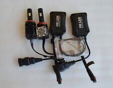 2 x bombillas LED H11 45W 6000LM 6000K bombilla lamparas faro Car Headlight Bulb