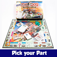 PICK YOUR SPARE PART - Monopoly Here & Now Electronic Card Banking Board Game