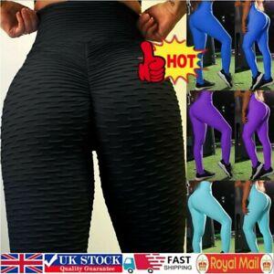 Tik-Tok Women High Waist Yoga Gym Pants Anti-Cellulite Leggings Push Up Trousers