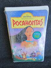 Walt Disney POCAHONTAS VHS New, Sealed Masterpiece Video Movie 1996