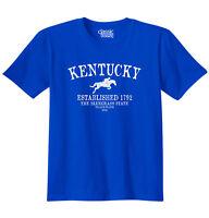 Kentucky State Trademark Souvenir Gift Destination Location T-Shirt Tee