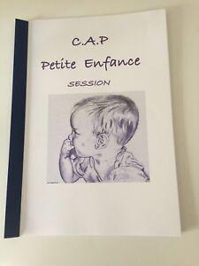 RAPPORT DE STAGE ECOLE MAT. CAP PETITE ENFANCE*ENVOI RAPIDE APRES PAIEMENT