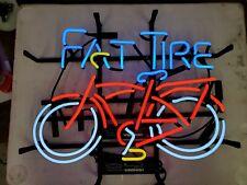 New ListingFat Tire Neon Sign Bar Light Man Cave Garage Light