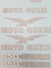 MOTO GUZZI 850 LEMANS LE MANS MODEL  PAINTWORK DECAL KIT