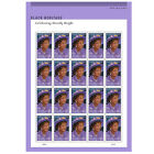 USPS New Dorothy Height stamp pane of 20