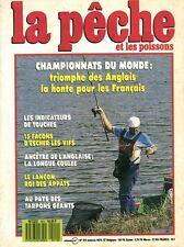 Revue  La pêche et les poissons No 510 Novembre 87