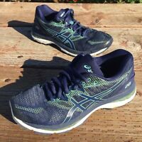 Asics Womens Gel Nimbus 20 T850N Navy Running Shoes Lace Up Low Top Size 8.5