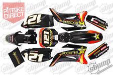 Rockstar TTR Graphics Kit Pit Bike Stomp Demon X