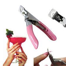 Home Nail Scissors Acrylic False Nail Clipper Manicure Tips Cutter U Edge