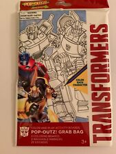 Pop-outs Transformers Color And Play