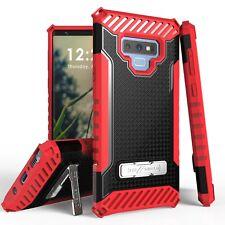 For Galaxy Note 10 10+ 9 8 7 Tri Shield Hybrid Armor Rugged Kickstand Case