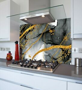 Printed Kitchen Glass Splashback - Toughened & Heat Resistant Cooker Panel 1143