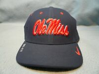 Nike Ole Miss Rebels Sideline S/M or M/L BRAND NEW curved bill hat cap dri fit