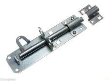 20 x Cancello Capanno Serratura Brenton Pad Bullone Slide Lock 200 mm ZP