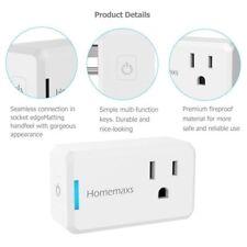 WiFi Smart Plug Power Switch Outlet Alexa Google Home Echo Wireless  Timing Func