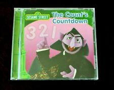 The Count's Countdown by The Count, and Sesame Street Jim Henson Muppets CD NEW