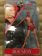 Adult XXX Superstars Houston in Red Clothes Action Figure Plastic Fantasy