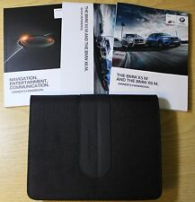 GENUINE BMW X5 M AND X6 M HANDBOOK NAVIGATION OWNERS MANUAL 2013-2015 PACK 2557