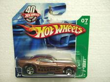 Hotwheels 2008 th7/12 #167 Dodge Challenger funny car, on short Card,