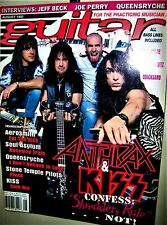 Anthrax & Kiss Guitar For The Practicing Musician Magazine August 1993 Jeff Beck