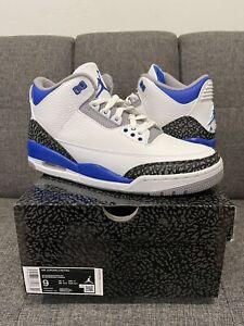 Nike Air Jordan 3 Retro Racer Blue Men's Size 9 CT8532-145 *SHIPS TODAY*