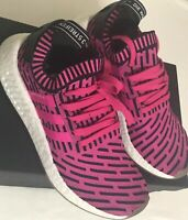 ADIDAS NMD_R2 PRIME KNIT PK Size 8 Mens Women's 9.5 Shoes BY9697 PINK  New W/Box