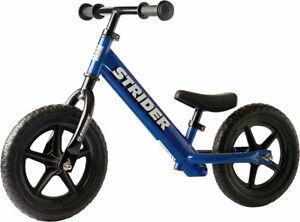 NEW Strider 12 Classic Balance Bike Blue
