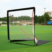 6x6ft Hockey Goal Net Stick Ball Kids Lightweight Portable Indoor Outdoor/Sports